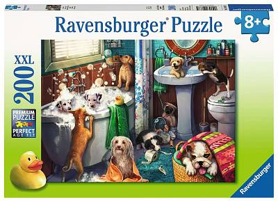 Cover of Tub Time XXL 200 piece puzzle - Ravensburger - 4005556126675