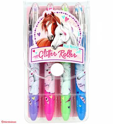 Cover of Miss Melody Mini Gelpen 4 Glitter Roller Set - 4010070402044