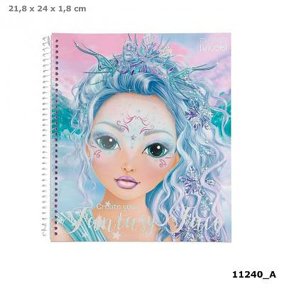 Cover of Create Your Fantasy Face Colouring Book