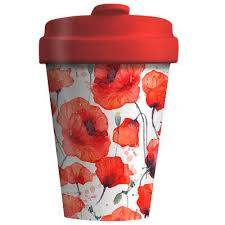 Cover of Bamboo Cup - Poppy Flowers