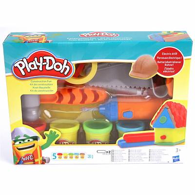 Cover of Playdoh Construction Fun
