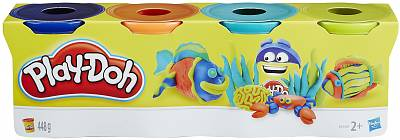 Cover of Playdoh 4 Pack Classic Colours