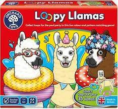 Cover of Loopy Llamas - Orchard Toys - 5011863000927