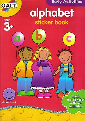 Cover of Alphabet Sticker Book