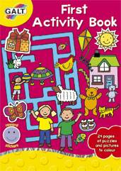 Cover of First Activity Book