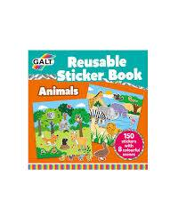 Cover of Reusable Sticker Book - Animals