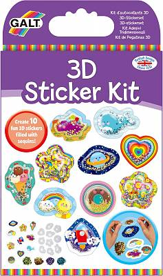 Cover of 3D Sticker Kit