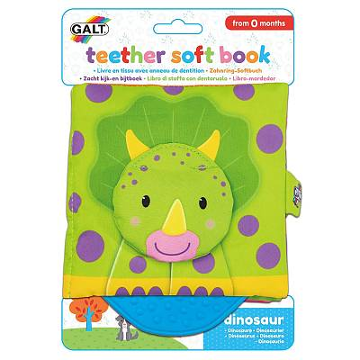 Cover of Teether Soft Book - Dinosaur