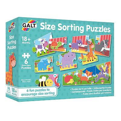Cover of Size Sorting Puzzles