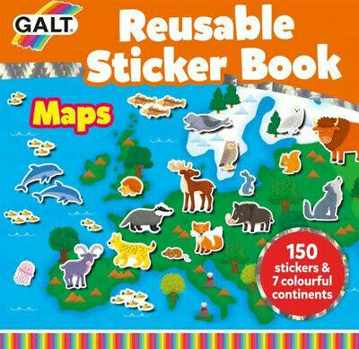 Cover of Reusable Sticker Book Maps