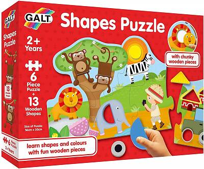 Cover of Shapes Puzzle