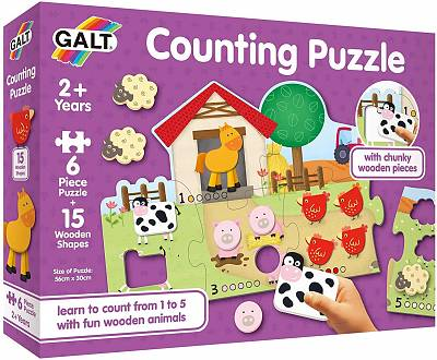Cover of Counting Puzzle