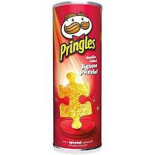 Cover of Pringles 250 piece puzzle