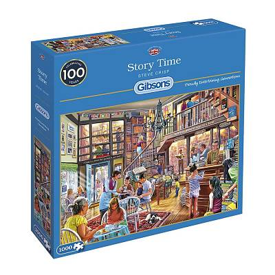 Cover of Story Time 1000 Piece Puzzle - Gibson Games - 5012269062601