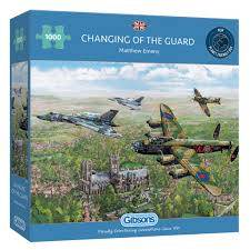 Cover of Changing of the Guard 1000 piece puzzle