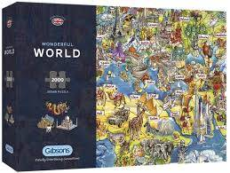 Cover of Wonderful World 2000 Piece Puzzle