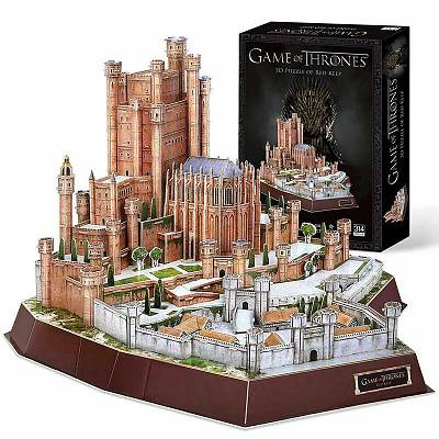 Cover of Game Of Thrones Red Keep 3D Puzzle 314 Pieces - 5012822074652