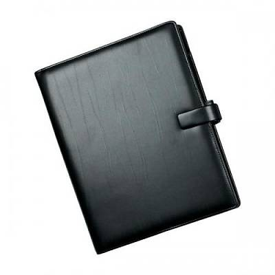 Cover of A4 Metropol Black Leather look Organiser