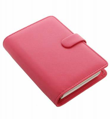Cover of Saffiano Personal Organiser Peony