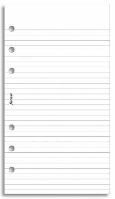Cover of Personal Ruled Notepaper White - Filofax - 5015142504502