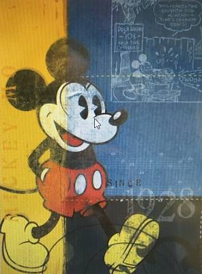 Cover of Mickey Mouse Notelets 10 pack - UK Greetings - 5034933807462