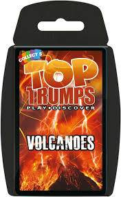 Cover of Top Trumps: Volcanoes
