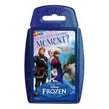 Cover of Top Trumps:Frozen Moments