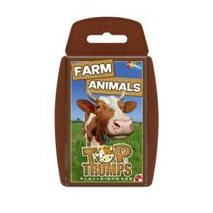 Cover of Top Trumps: Farm Animals