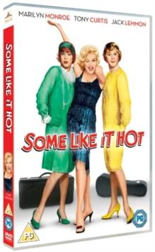 Cover of Some like it Hot DVD - Unknown - 5039036053563