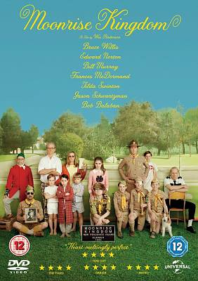Cover of Moonrise Kingdom DVD - 5050582903508