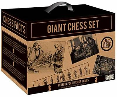 Cover of Giant Chess Set Kraft Paper Garden Games - Robert Frederick - 5051237071399
