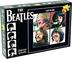 Cover of The Beatles Let It Be 1000 piece Puzzle