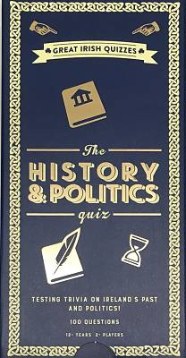 Cover of The History and Politics Quiz - 5056297211150