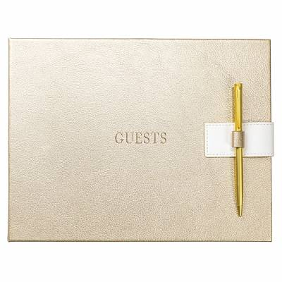 Cover of Guest Book - Gold