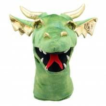 Cover of Large Dragon Head - Green - Puppet Company - 5060311833556