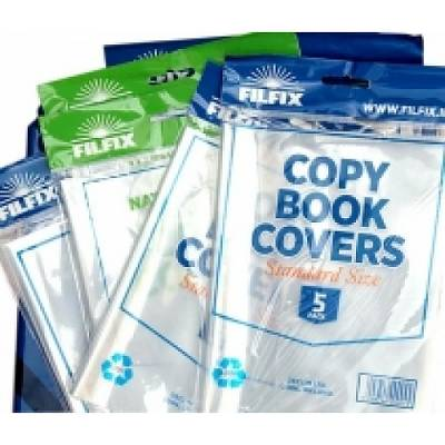Cover of Copy Covers Clear 5 Pack For Standard Writing And Sum Copies