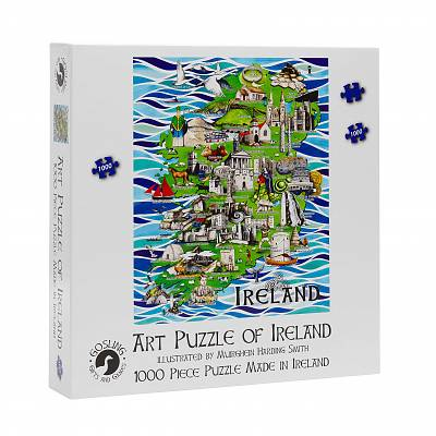 Cover of Art Puzzle of Ireland 1000 Piece Puzzle