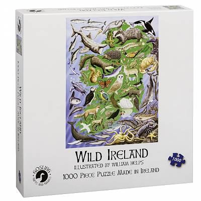 Cover of Wild Ireland 1000 Piece Jigsaw
