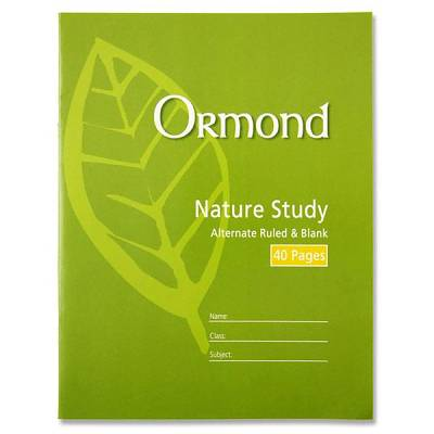 Cover of Ormond Nature Study Copy
