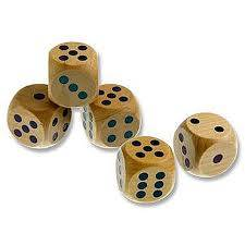 Cover of Clever Kidz Wooden Dice - 5390380585774