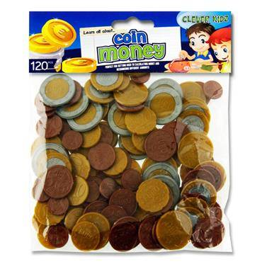 Cover of Clever Kidz 120 Piece Euro Coin Set - 5390380612999