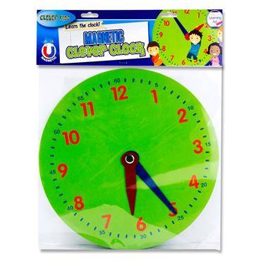 Cover of Clever Kidz Magnetic Clever Clock