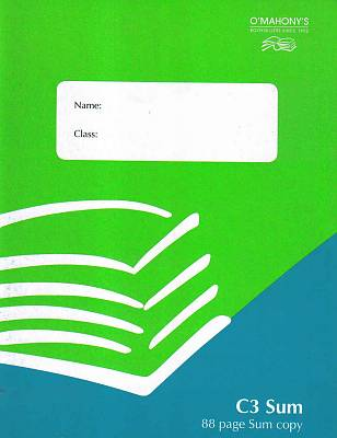 Cover of C3 88 Page Sum Copy