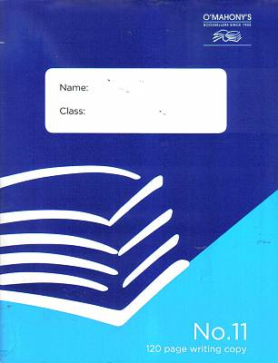 Cover of No.11 120 Page Writing Copy (Pack of 10)