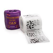 Cover of Crosswords for the Can Loo Roll