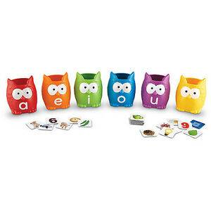 Cover of Vowel Owls Sorting Set