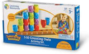 Cover of 1-10 Counting Owls Activity Set