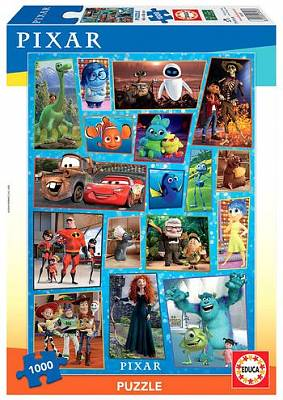 Cover of Disney Pixar 1000 Piece Puzzle