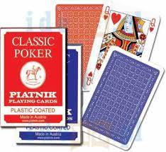 Cover of Classic Poker Cards