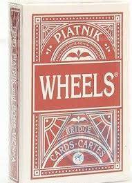 Cover of Wheels Bridge Single Deck (linen finish) (supplied as either blue or red)